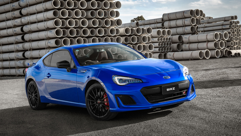 Subaru BRZ tS Wallpapers