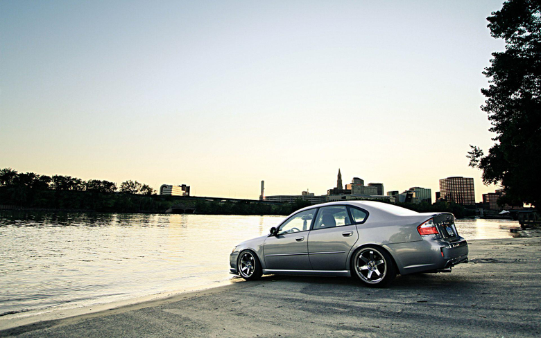 Test drive the car Subaru Legacy wallpapers and image