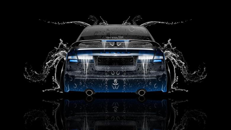 Subaru Legacy B4 JDM Back Water Car 2014