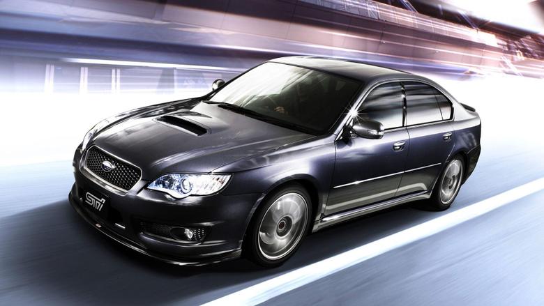 Subaru Legacy STI Wallpapers HD Image