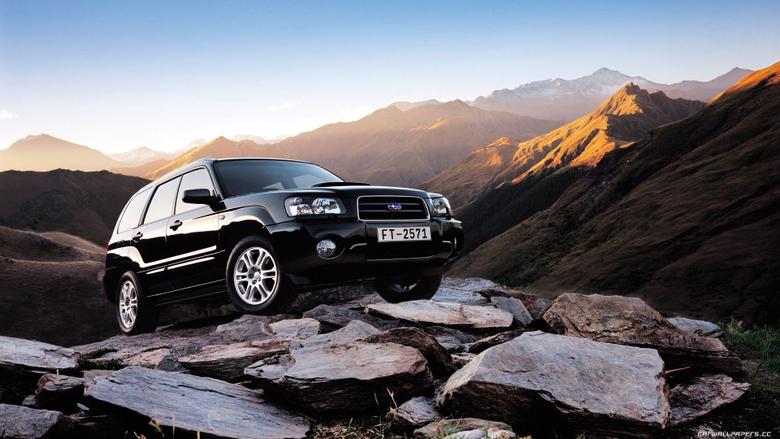 Subaru Forester Black Wallpapers Widescreen