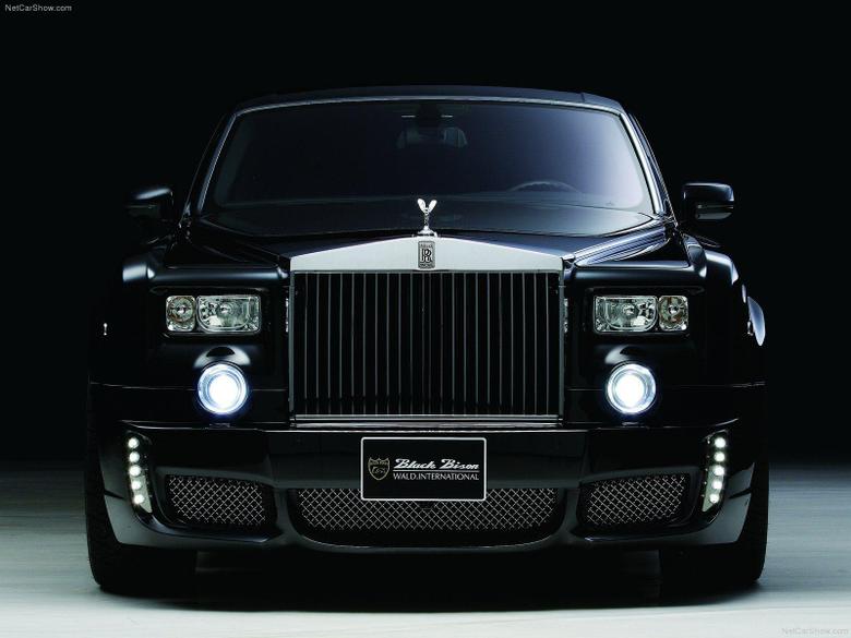Rolls Royce Black Color Image For Desktop HD Wallpapers