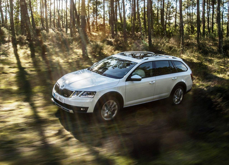 Skoda Octavia Scout Wallpapers Pictures