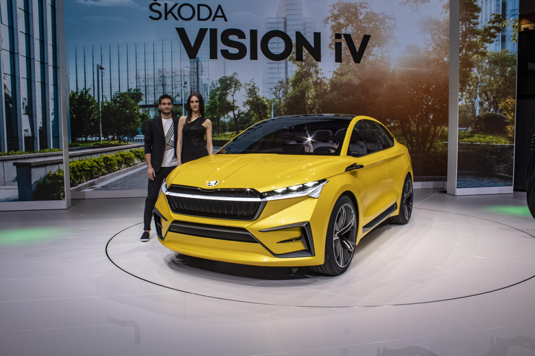Skoda Vision IV Concept Pictures Photos Wallpapers