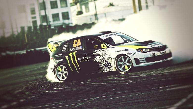 Ken Block Subaru Monster Energy Gymkhana Car Wallpapers Photos