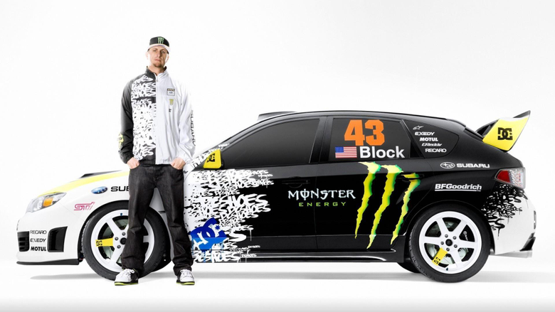 Ken block subaru impreza wrx sti cars wallpapers