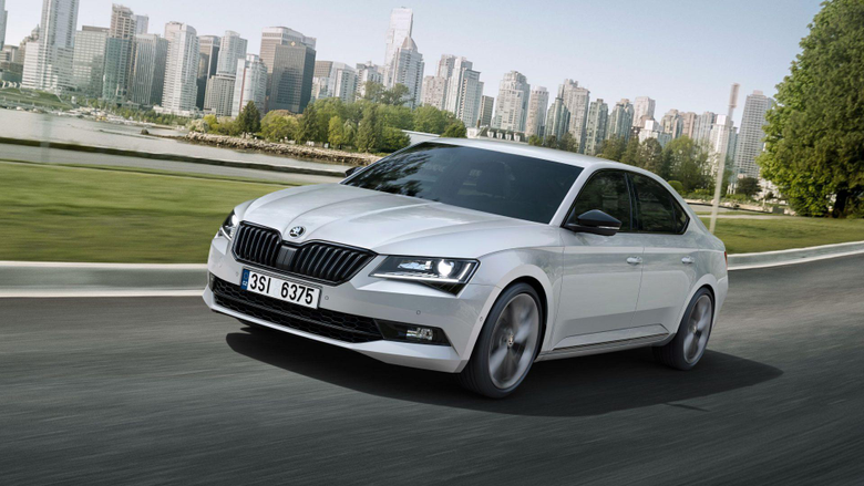 Skoda Superb SportLine 2015 1920 1080 Desktop Wallpapers