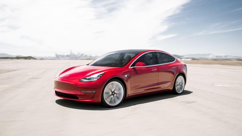 Wallpapers Sunday Tesla Model 3 Performance