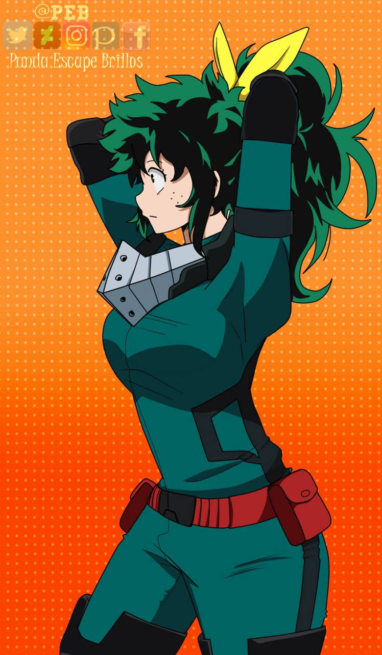 Female Deku wallpapers by Emilywolf003