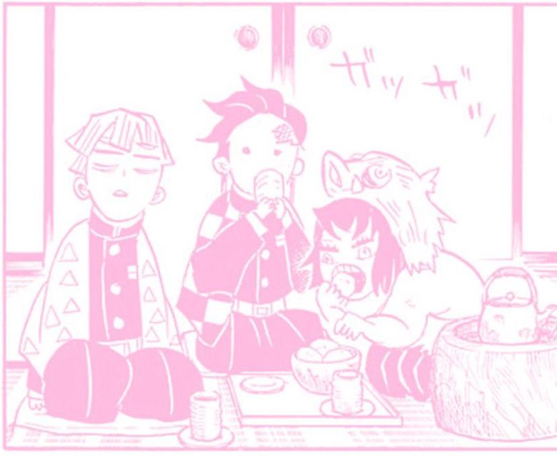 demon slayer manga pink