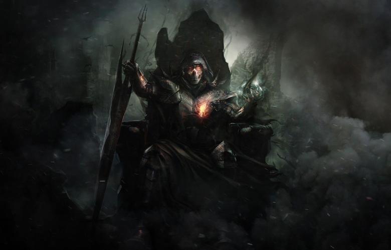 Wallpapers Armor Dark Sword Warrior goodfon