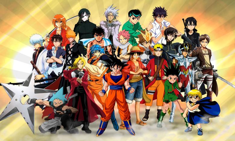 Goku Naruto Luffy Ichigo Natsu Wallpapers