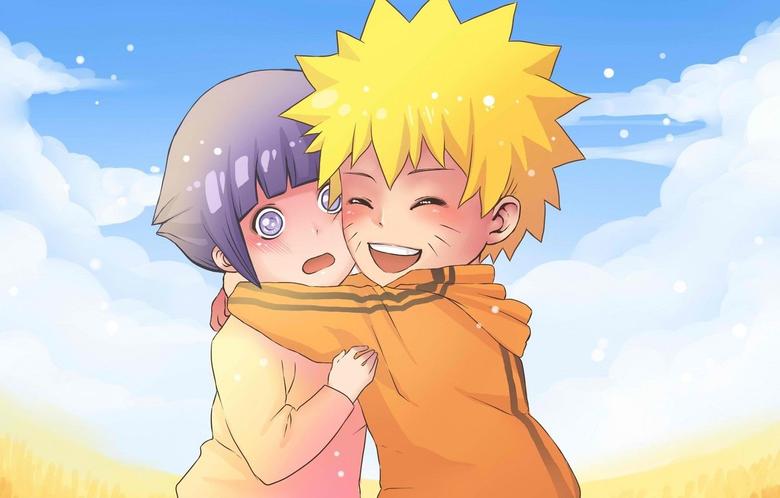 Wallpapers joy children naruto art confusion Uzumaki Naruto Hinata Hugo image for desktop section