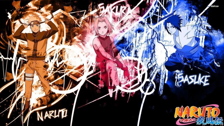 Sakura Naruto and Sasuke wallpapers