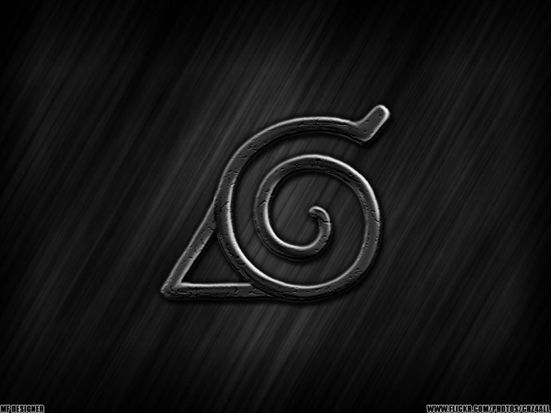 hidden leaf naruto konoha symbol