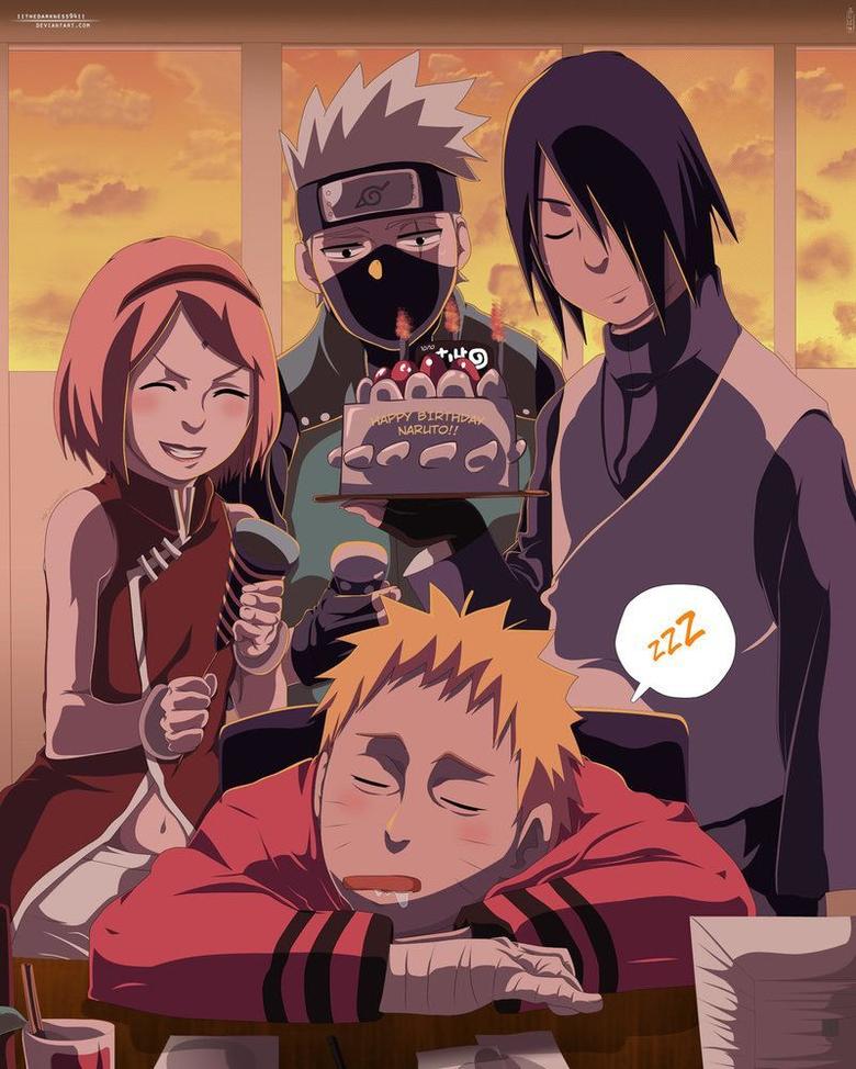Naruto birthday Naruto shippuden anime pinterest