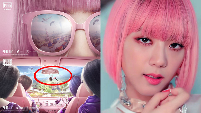 sure signs that a Blackpink x PUBG Mobile collaboration is happening
