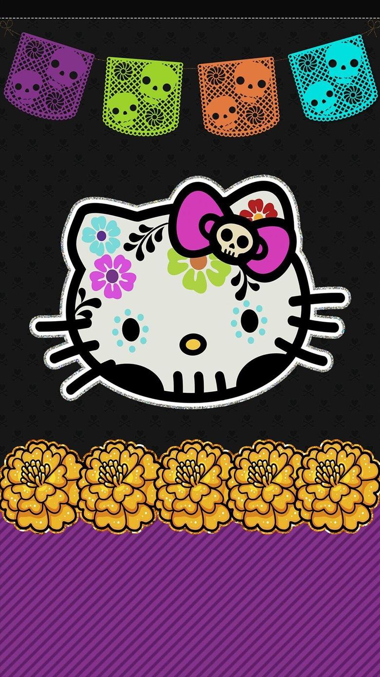 Hello Kitty cell phone wallpaper lock screen pic dia de los