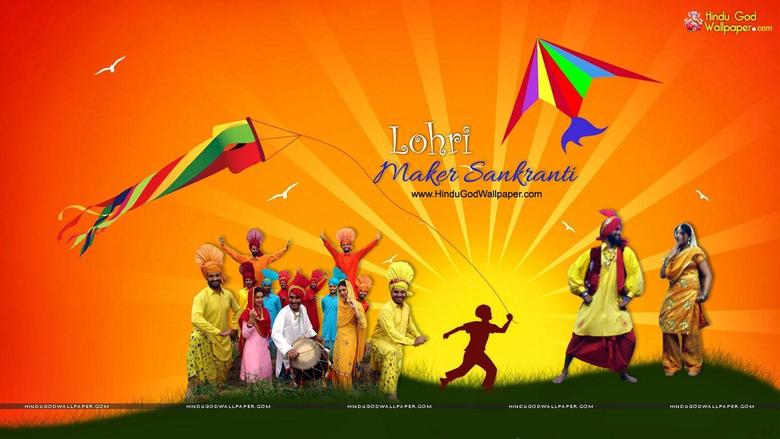 Lohri and Maker Sankranti Wallpapers