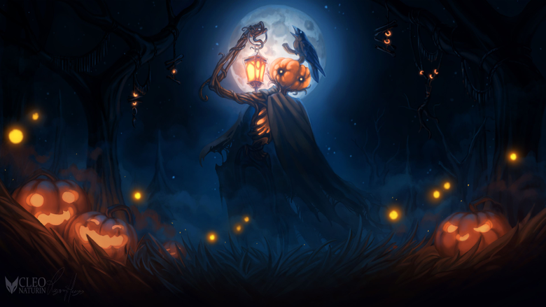 Halloween 2018 Digital Art 4k HD Artist 4k Wallpapers Image Backgrounds Photos and Pictures