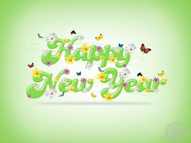 Happy New Year Beautiful hd Image