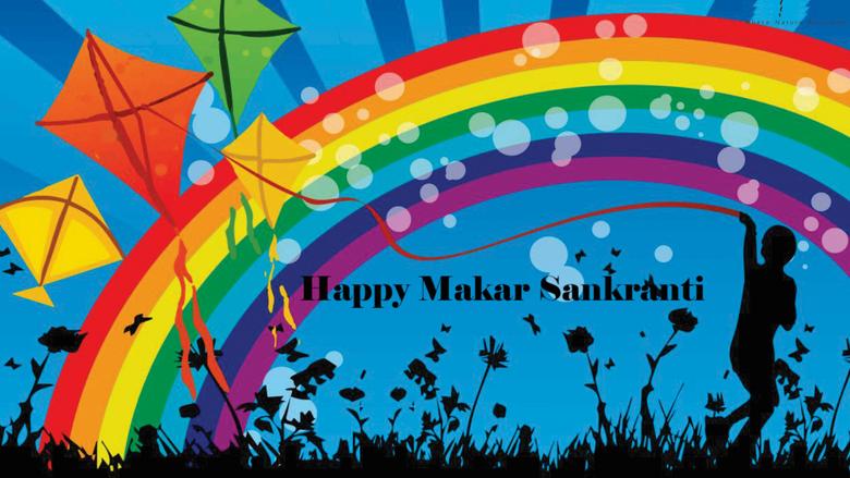 Happy Makar Sankranti 5K Wallpapers
