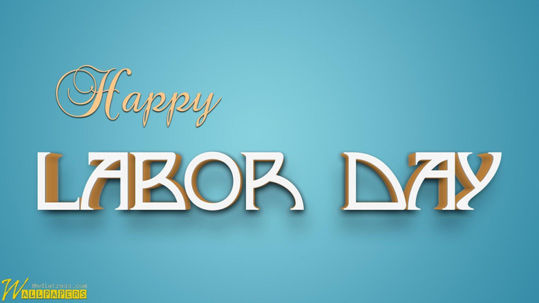 Labor Day Holiday Beautiful 3D Wallpapers
