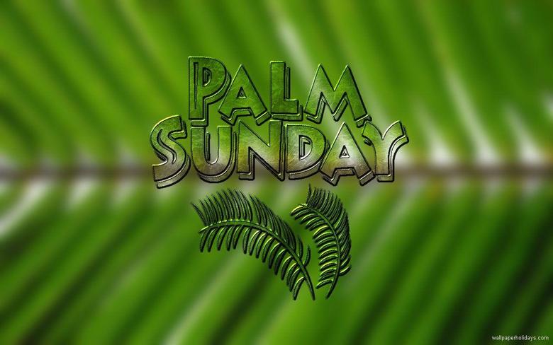 Palm Sunday Wallpapers for Desktops