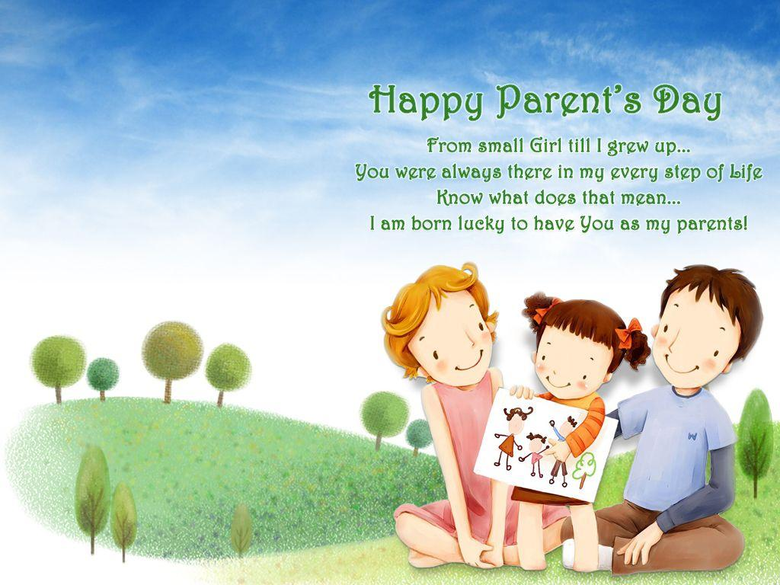 Parents Day Life Quotes Image