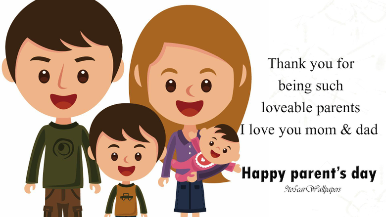 Happy Parents Day Image HD Pictures