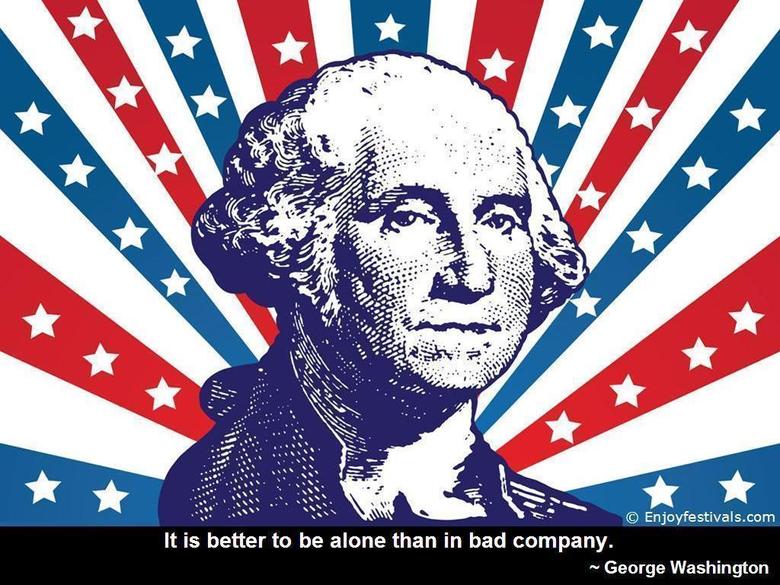 Washington Birthday USA President Day Quotes Sayings