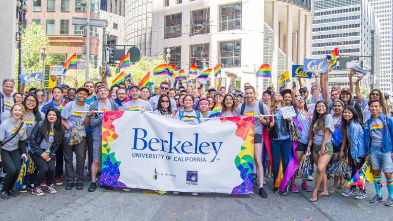 Cal at San Francisco Pride Parade