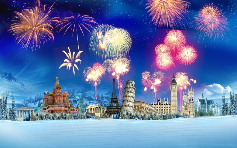 World s Best Romantic Place Eiffel Tower Paris New Years Eve