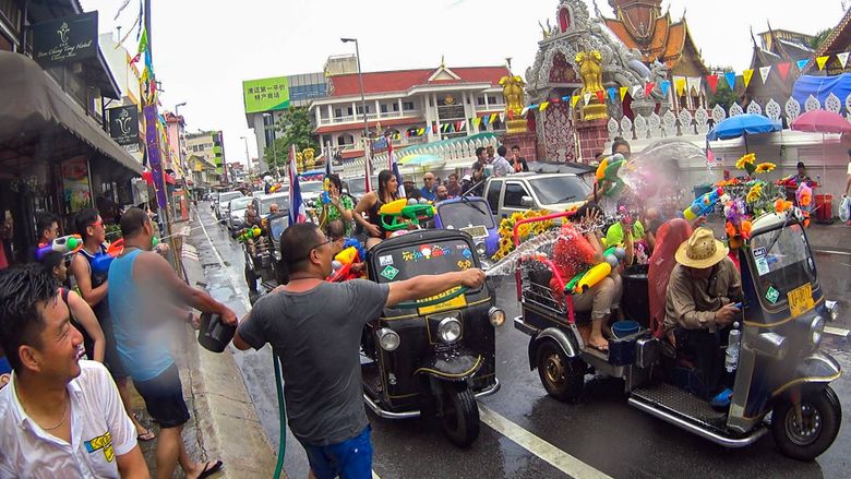 What nobody tells you about Songkran in Chiang Mai