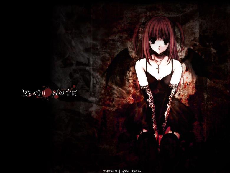 Misa Amane Death Note Anime wallpafar