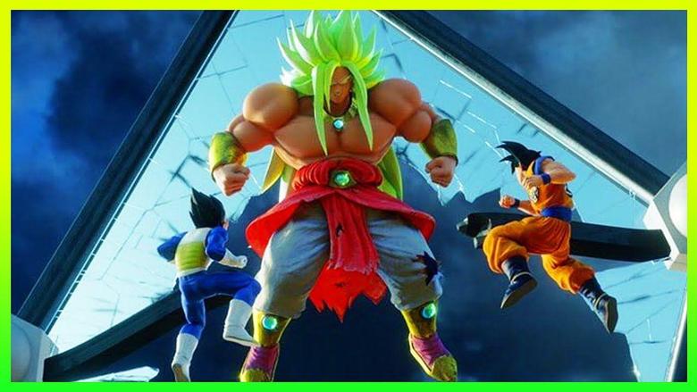 NEW God Broly Movie Image REVEALED Super Saiyan Blue Goku Vs Broly