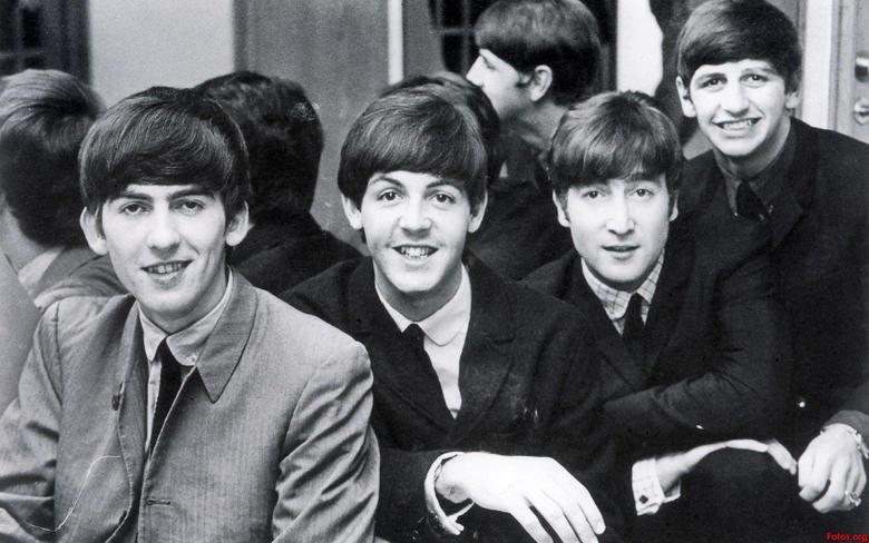 The Beatles John Lennon George Harrison Ringo Starr Paul McCartney