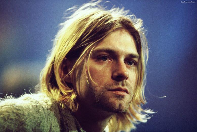 Desktop Wallpapers Wonderful Kurt Cobain Wallpapers Background