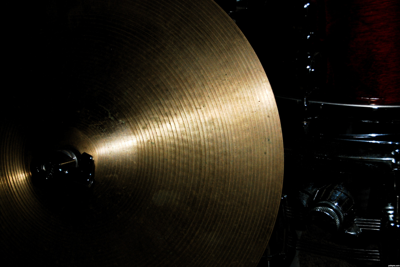 cymbal and drum picture by Momof4boyoboys for drums photography