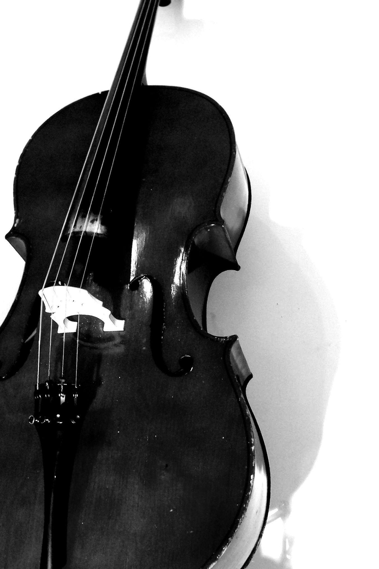 Image For Black And White Cello Wallpapers