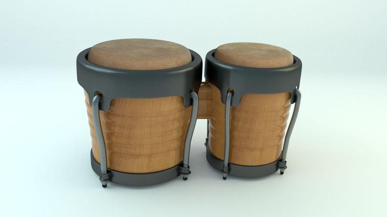 Bongo Drums 3D