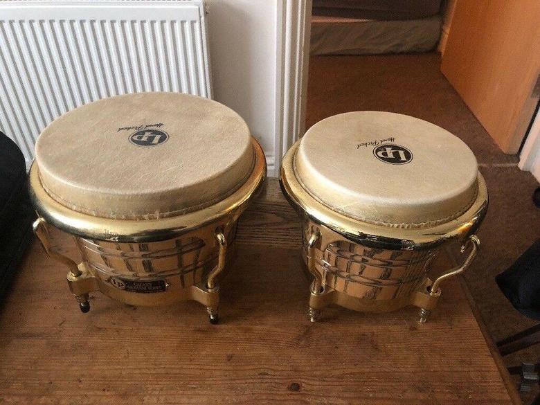 L p bongo drums