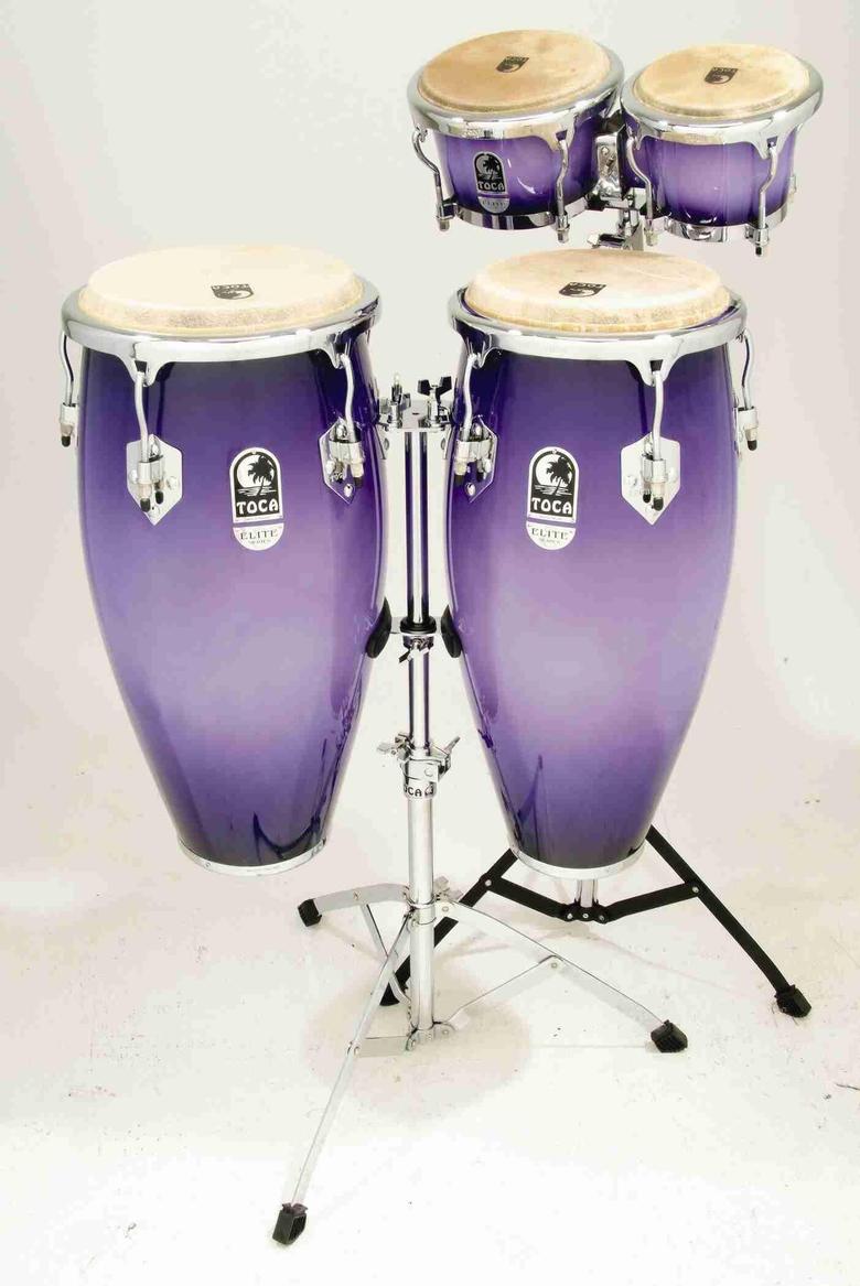 Purple bongo drum set AAAAAAAAHHHHHHH