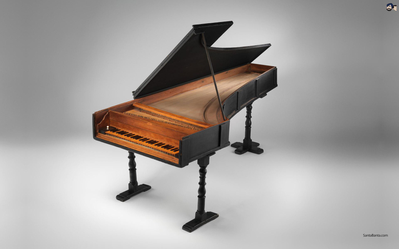 The first Piano invented by Italian harpsichord maker Bartolomeo