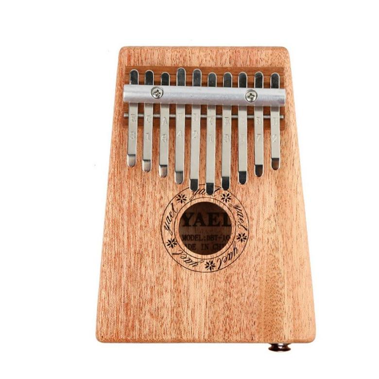 Key Kalimba Elk Sound Hole Single Board MAhogany Thumb Piano