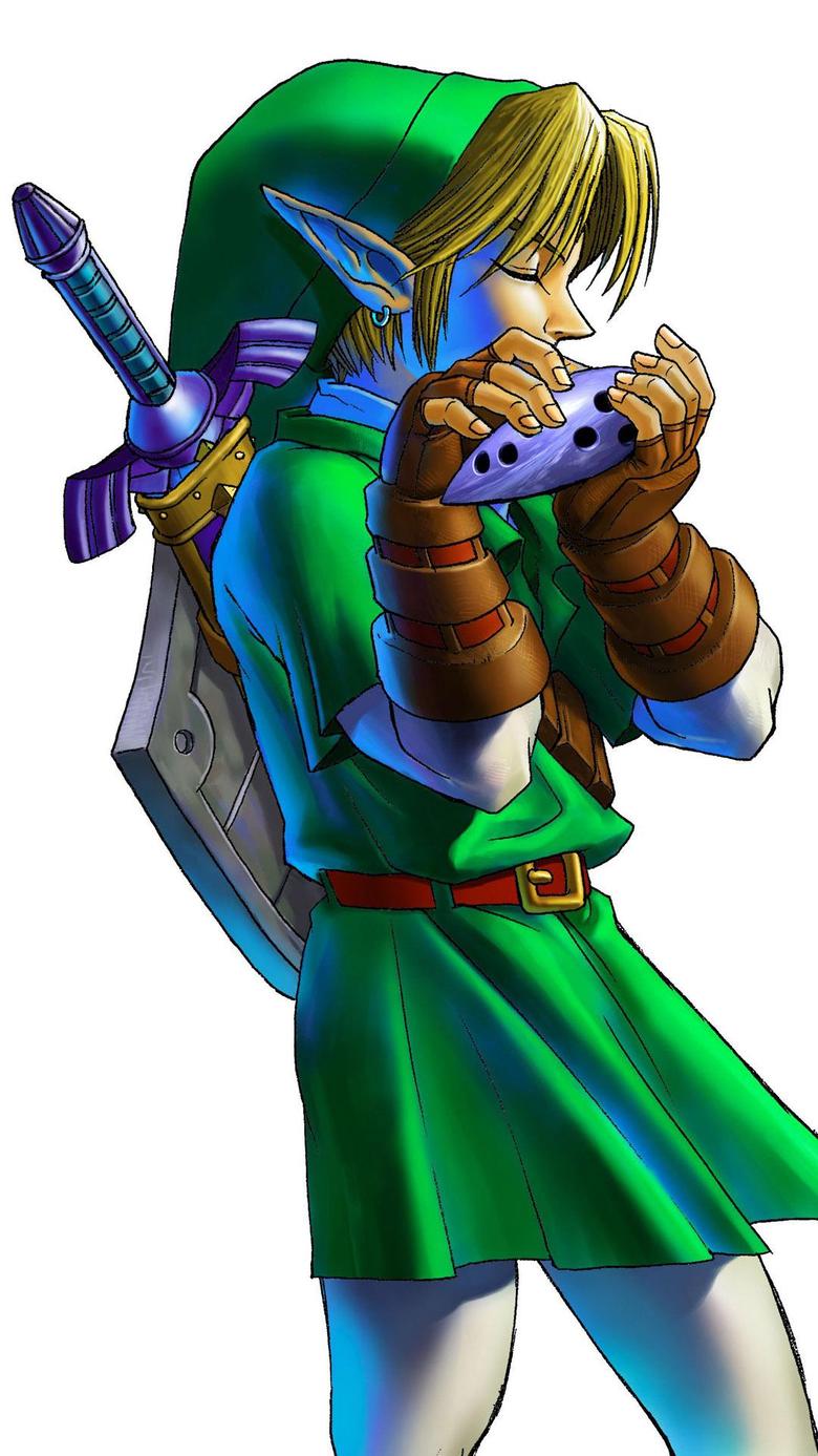 Legend Of Zelda Ocarina Of Time Wallpapers Group