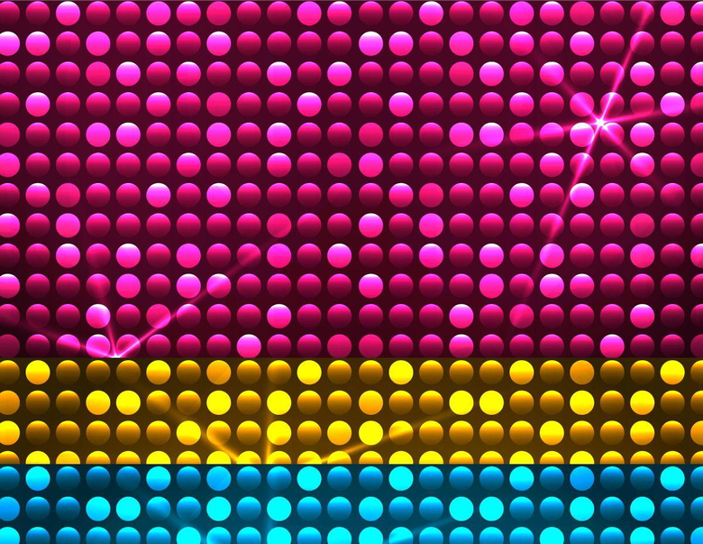 Disco Lights Vector Wallpapers