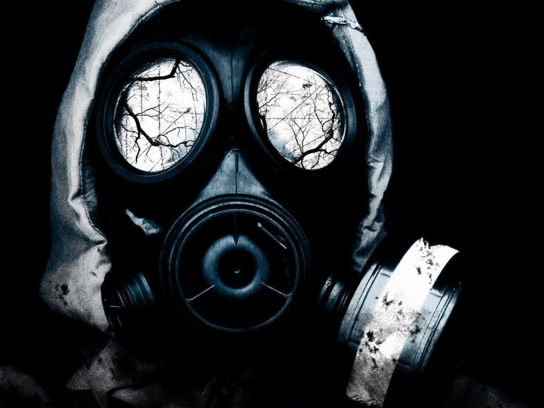 Wallpapers For Dubstep Wallpapers Gas Mask Green