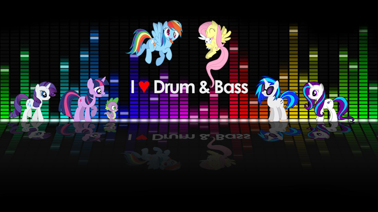 Love drum and bass wallpapers