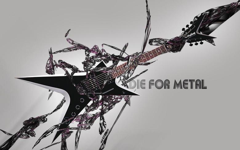 Metal Band Collage 2 Computer Wallpapers Desktop Backgrounds